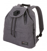 Рюкзак WENGER 13'', cерый, ткань Grey Heather/ полиэстер 600D PU , 33х13х39 см, 16 л